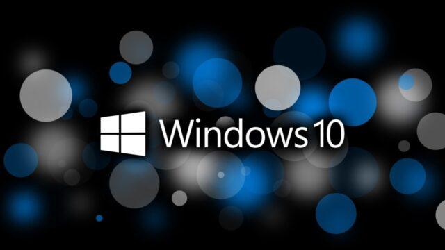 Windows 10 Dosya Gezgini Hatası