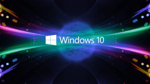 Windows 10 sürücü