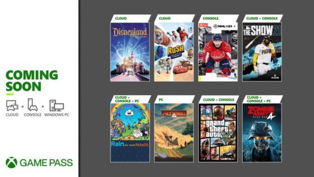 Xbox Game Pass Nisan 2021