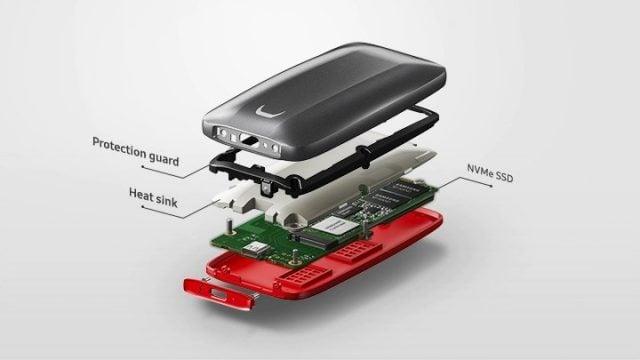 Samsung X5 Taşınabilir SSD