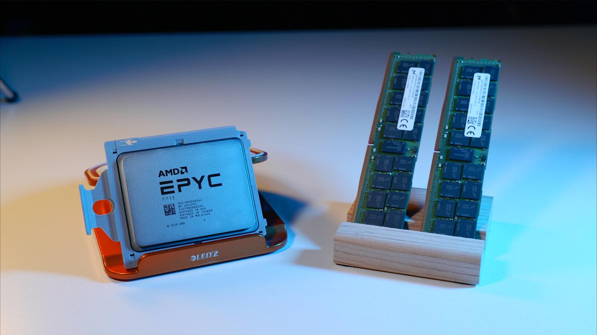 AMD EPYC İşlemci ve ECC RAM