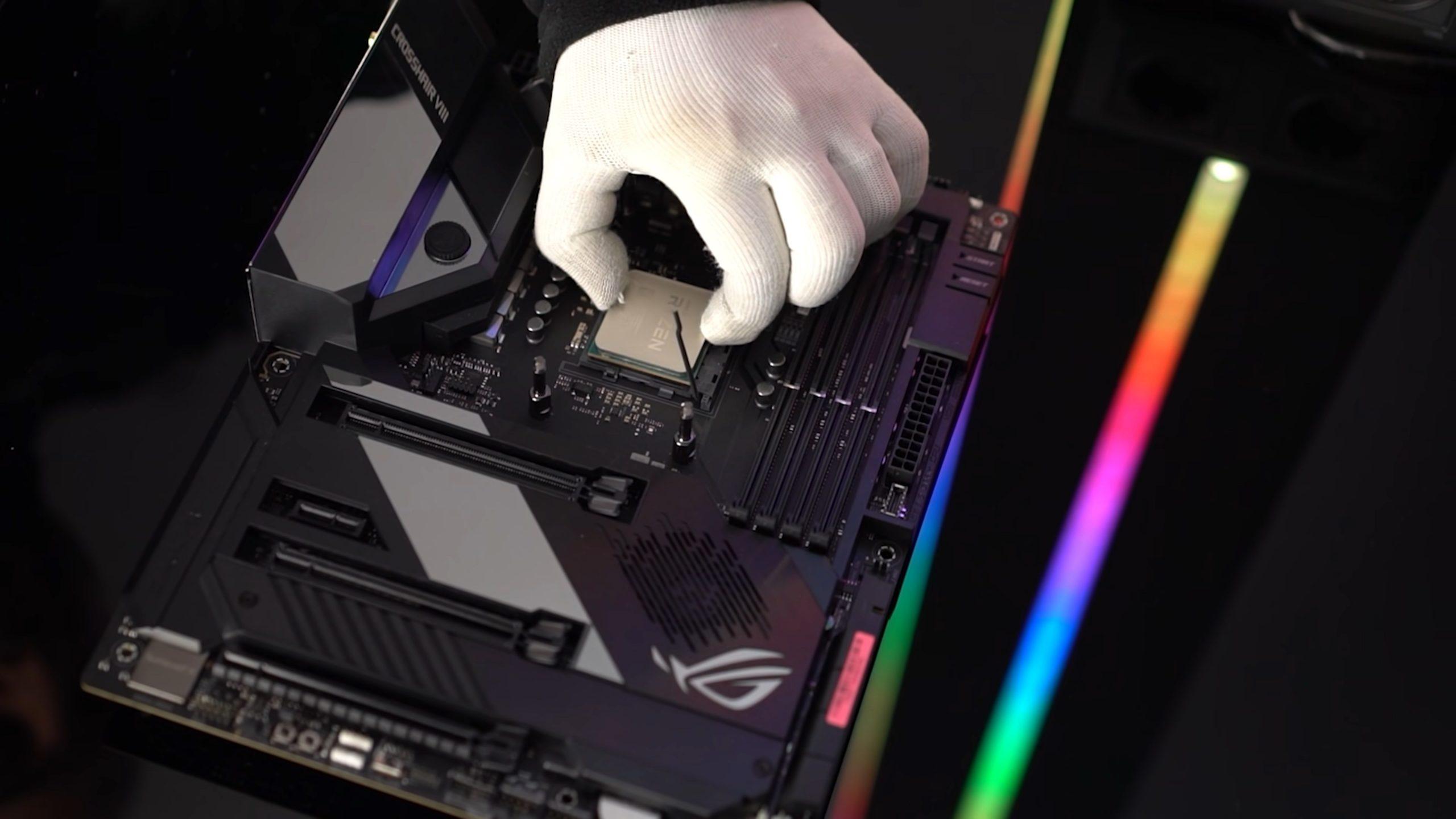 AMD İşlemci Montajı