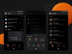 microsoft office Android karanlık mod özelliği