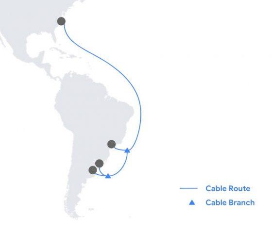 Google Firmina Denizaltı Kablo Hattı