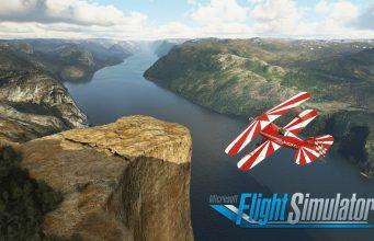 Flight Simulator İskandinavya