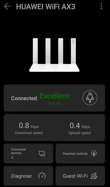 Huawei Wi-Fi AX3 Router - ai life