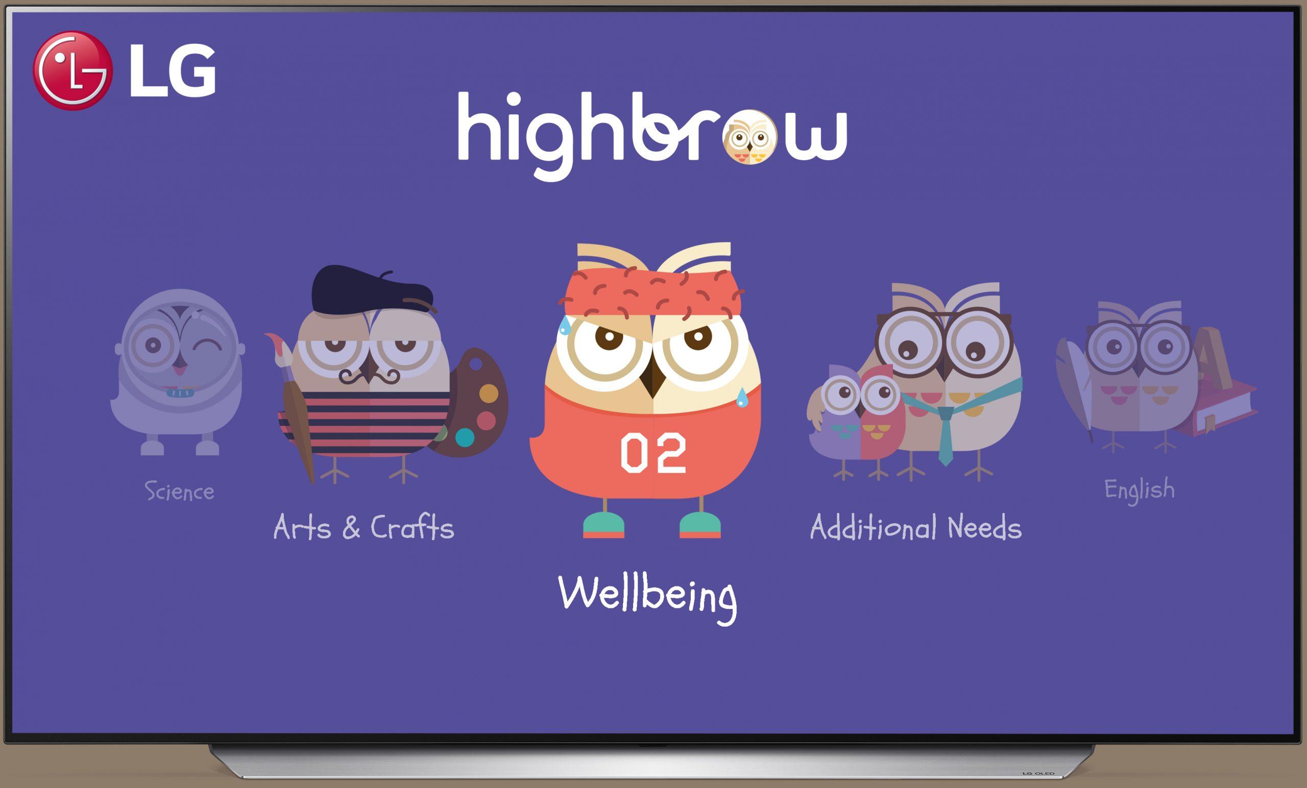 LG ve Highbrow Eğitim İçeriği