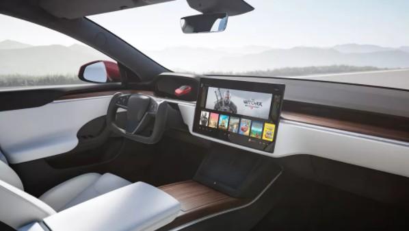 Model S Plaid Araç İçi Bilgisayar