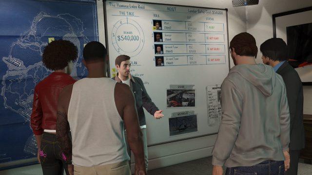 Grand Theft Auto Online Xbox 360 PS3