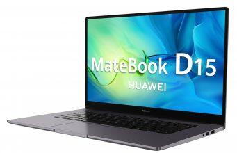 Huawei MateBook D15 özellikleri