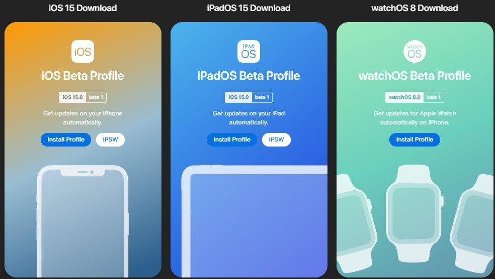 iOS 15 beta nasıl yüklenir