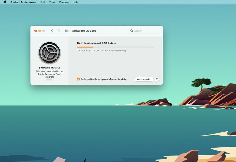 macOS Monterey Beta İndirme