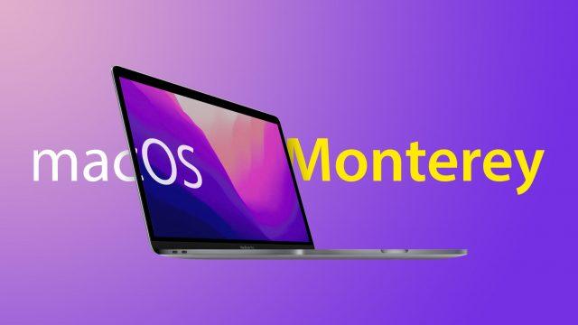 macOS Monterey Beta yükleme