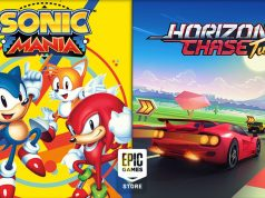 Sonic Mania Epic Games Store