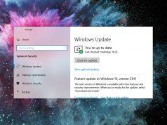 Windows 10 KB5003214 güncellemesi görev çubuğu hatası