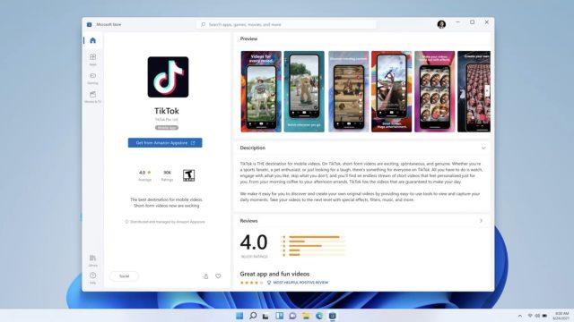 Windows 11 Android uygulama desteği