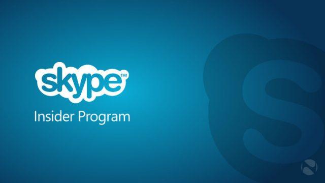 Skype Insider Program