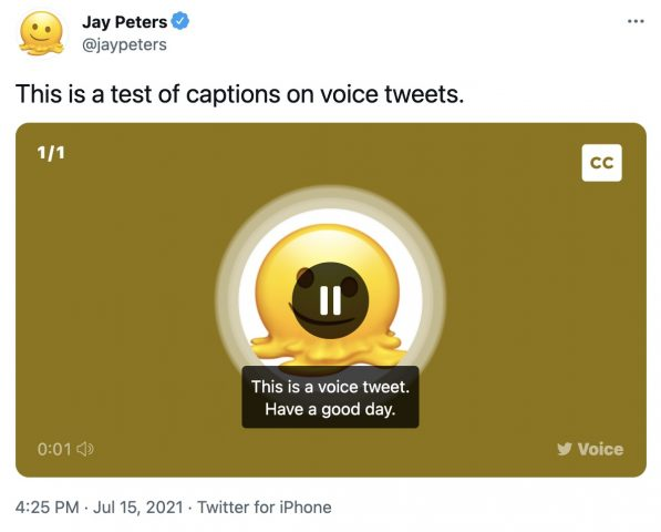 Twitter Sesli Tweet Altyazı