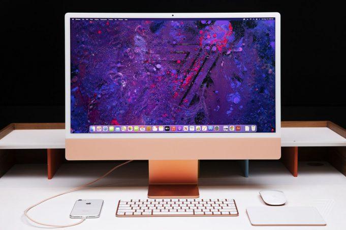 büyük ekranlı yeni iMac