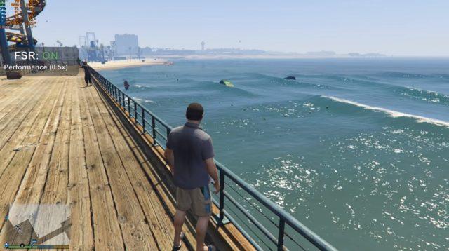Grand Theft Auto V AMD FSR