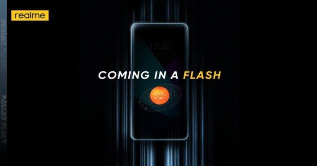 manyetik şarj destekli ilk android telefon Realme Flash