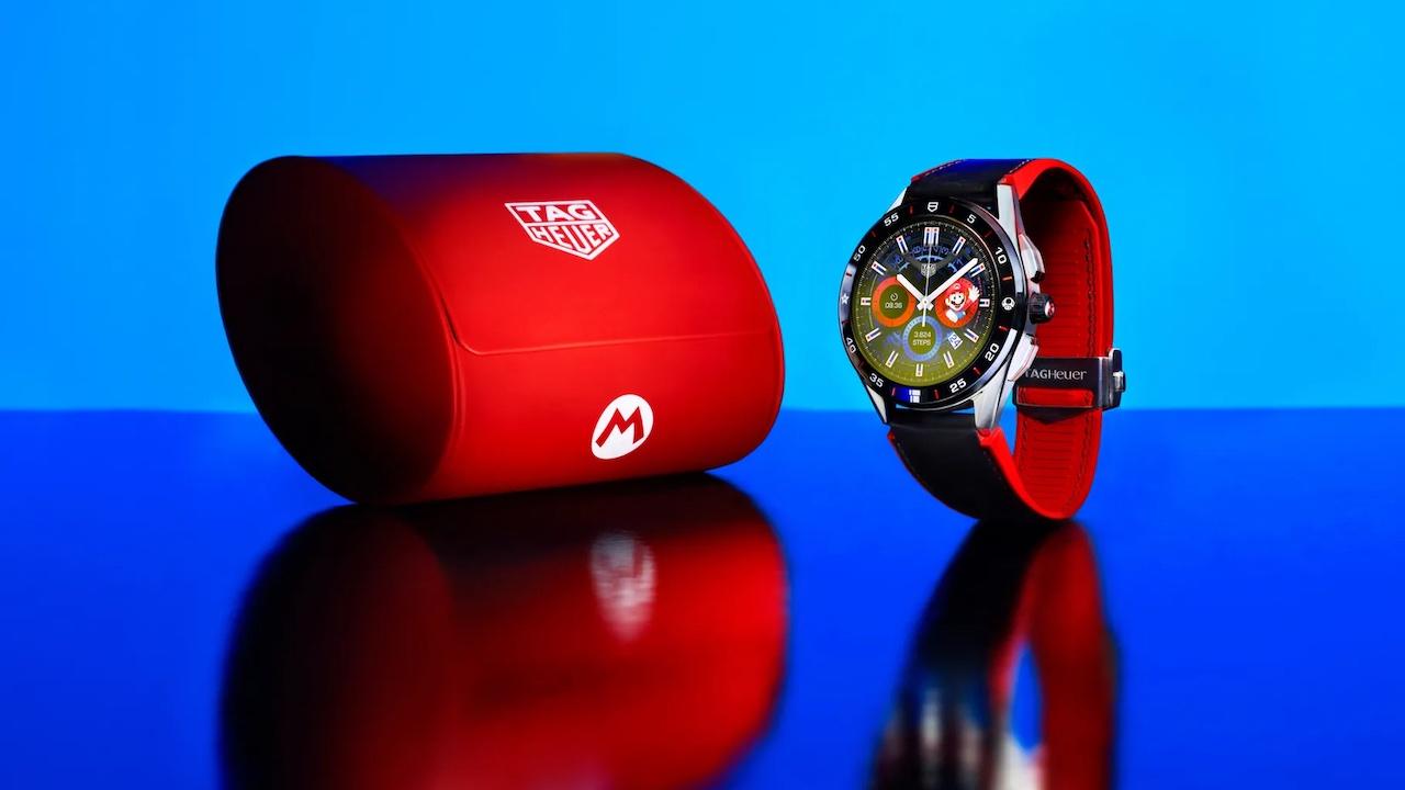 TAG Heuer, Super Mario Temalı Akıllı Saat Tanıttı - Technopat