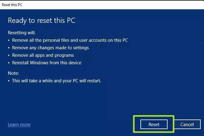 Windows 11 format rehberi