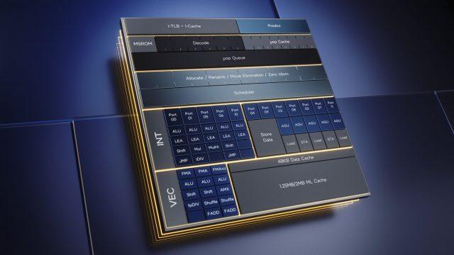 Intel 12. Nesil Alder Lake Performans Verimlilik Hibrit Mimarisi