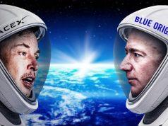 SpaceX ve Blue Origin- Elon Musk-Jeff Bezos