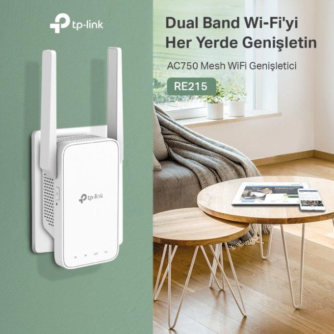 TP-Link RE215 ve RE315 Wi-Fi Menzil Genişletici