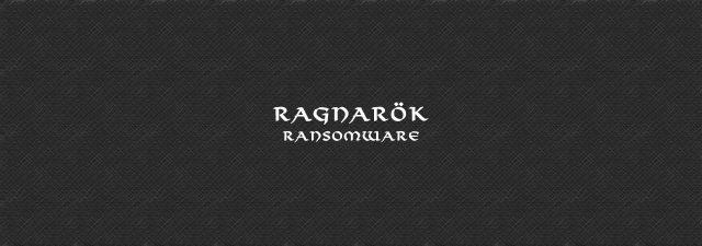 ragnarok ransomware