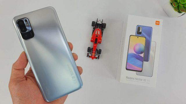 Redmi Note 10 5G kutu içeriği