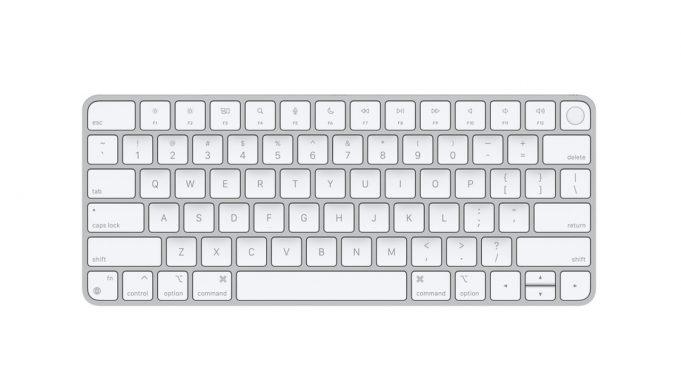 Touch ID Özellikli Magic Keyboard