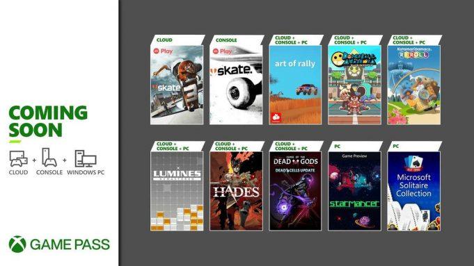 Xbox Game Pass Ağustos 2021