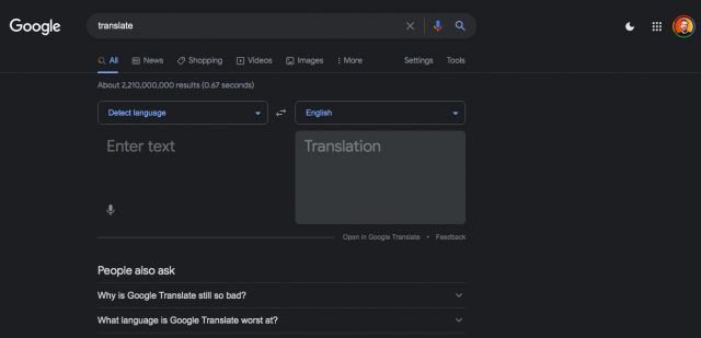 GoogleDarkMode