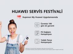 HUAWEI Servis Festivali Kampanyası