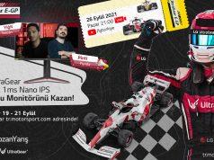 """LG Türkiye ile Yarış Heyecanı """"LG UltraGear E-GP"""" ile Devam Ediyor"""