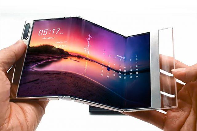 SamsungGerilebilirEkran