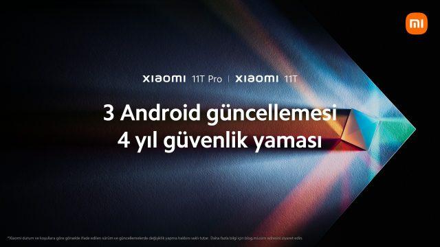 Xiaomi 11T Serisi güncelleme