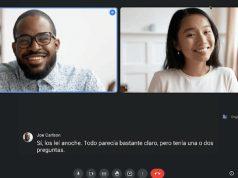Google Meet Canlı Çevrilmiş Altyazılar