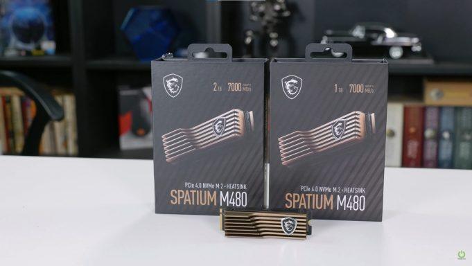 MSI Spatium M480 SSD