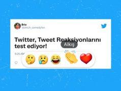 tweet reaksiyon