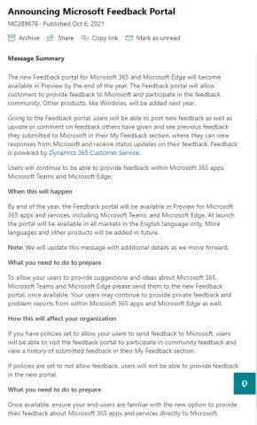 MicrosoftGeriBildirimPortalı