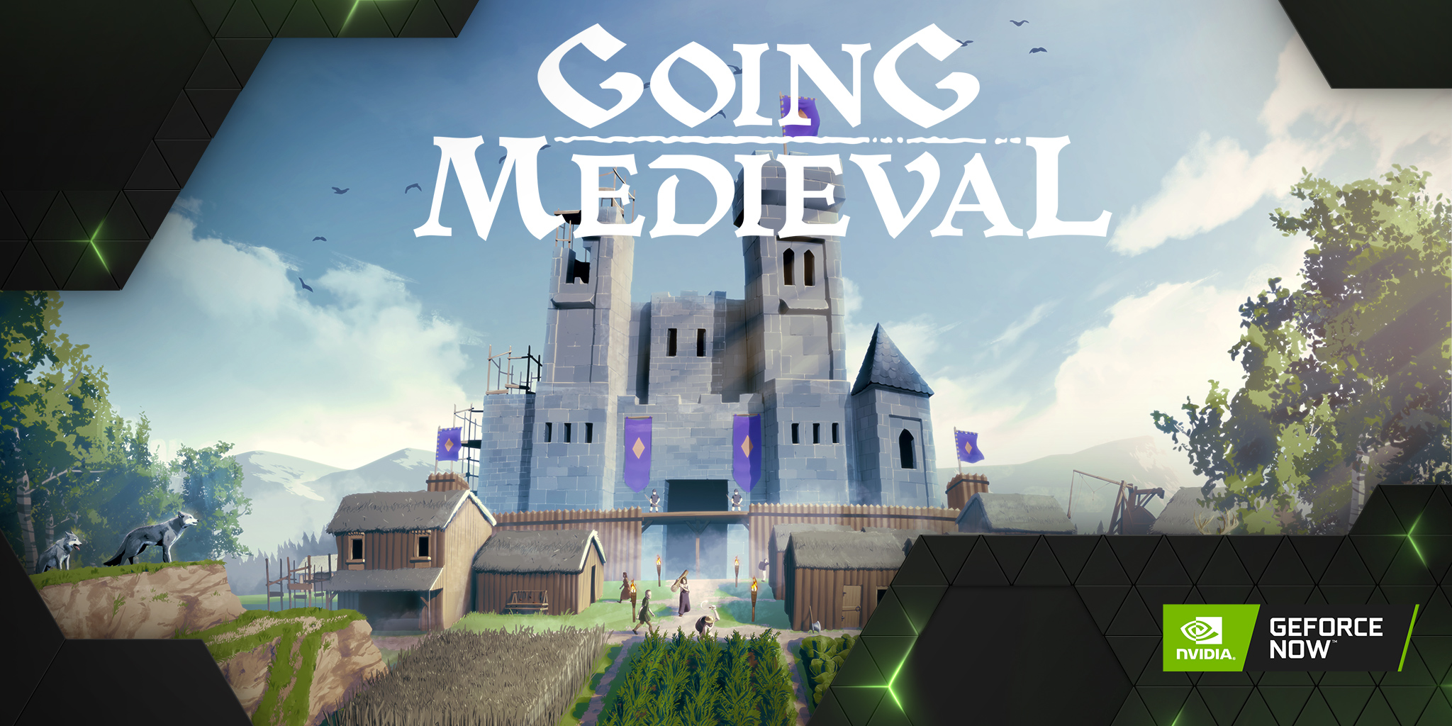 geforce now Going Medieval