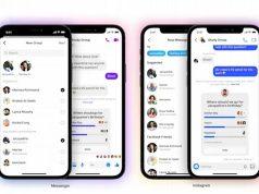 Instagram Messenger grup